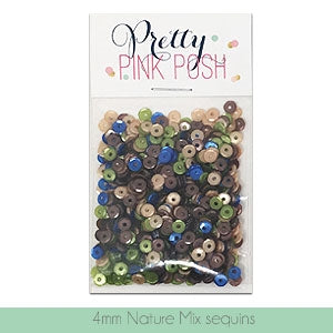 4mm Nature Sequins Mix