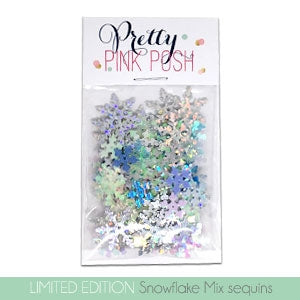 Snowflake Sequins Mix