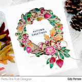 Autumn Wreath Coordinating Dies