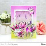 Crocus Flowers Coordinating Dies