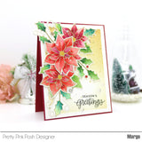Poinsettias Stamp Set