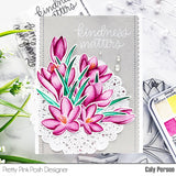 Crocus Flowers Stamp Set
