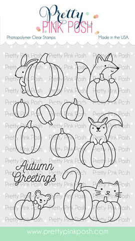 Pumpkin Patch Critters Stamp Set