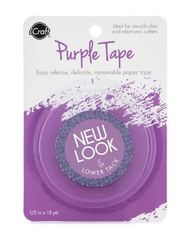 iCraft Purple Tape 1/2""