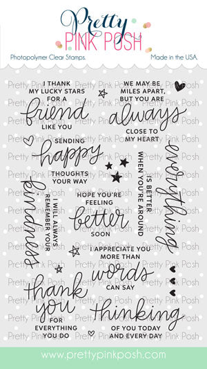 Thoughtful Greetings Stamp Set