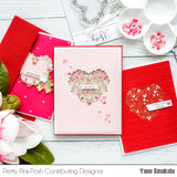 Floral Hearts Stamp Set