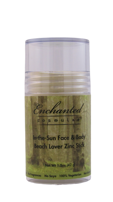 SUNBLOCK BEACH LOVER STICK for Face & Body, 25% Zinc, In-the-Sun