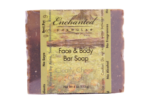 HIGHLY SENSITIVE SKIN BAR SOAP, Acne, Eczema, Rosacea, Allergies; Clearly Cheerly Green Line