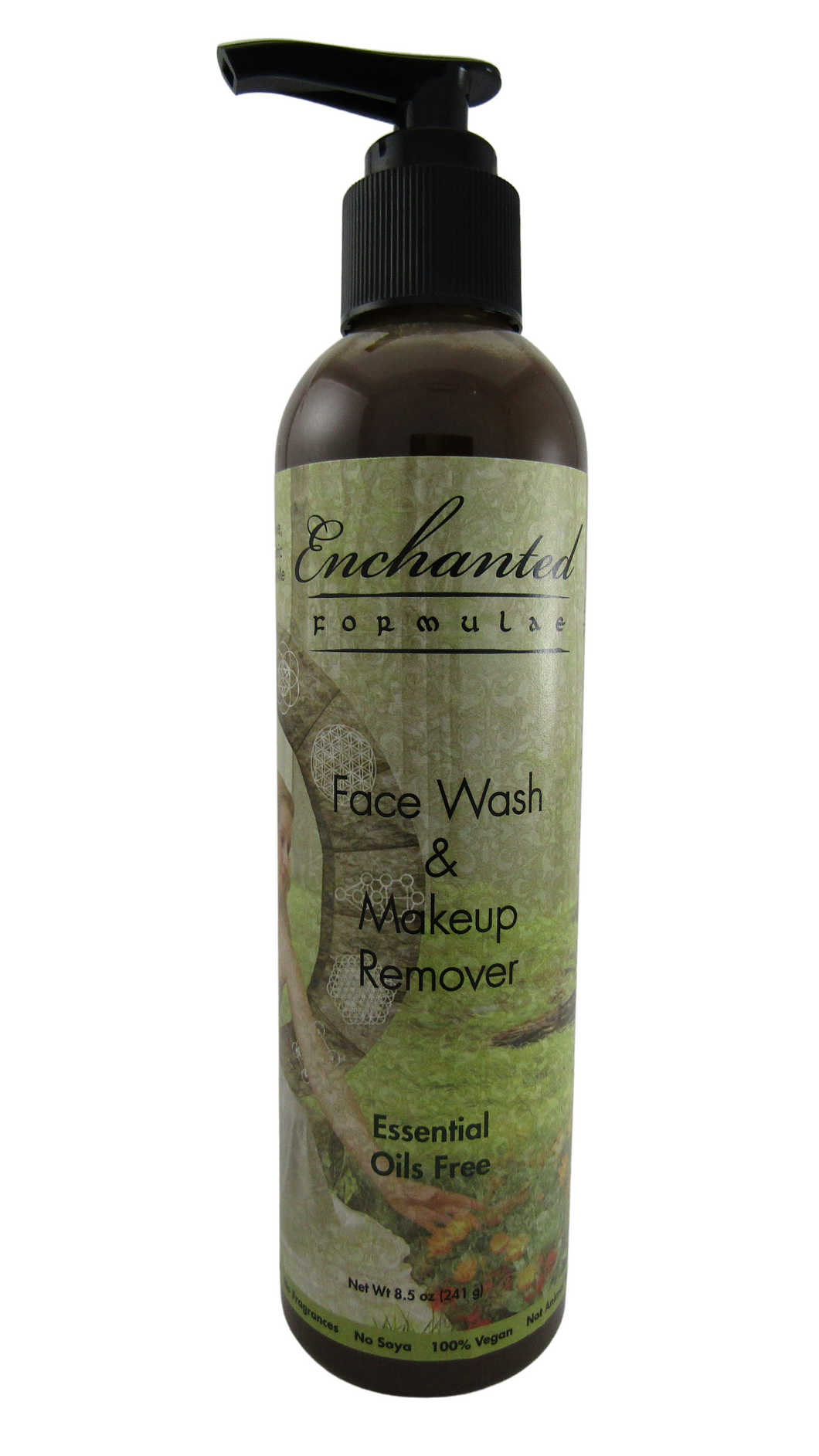 NORMAL TO HIGHLY SENSITIVE SKIN FACE WASH & MAKEUP REMOVER ESSENTIAL OILS FREE