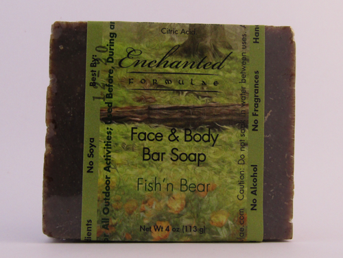 Fish'n Bear Face & Body Bar Soap