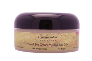 ANTI-AGING FACIAL CREAM for Eyes, Lips & Face, My Best Ever 30+