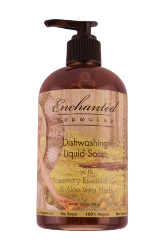 DISHWASHING LIQUID SOAP with Essential Oils
