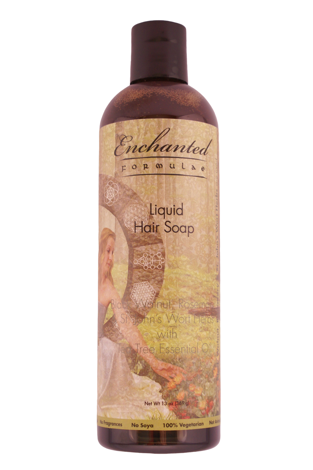 HAIR LIQUID SOAP with Herbs & Essential Oils