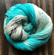 Load image into Gallery viewer, Love is Like Oxygen- Hand Dyed Superwash Merino Nomad Sock Fingering Yarn