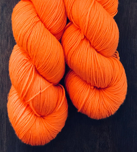 Achtung!- Hand Dyed Superwash Merino Nomad Sock Fingering Yarn