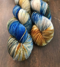 Load image into Gallery viewer, Conchology- Hand Dyed Nomad Superwash Merino Sock Fingering Yarn