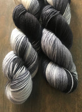 Load image into Gallery viewer, Apparition - Hand Dyed Superwash Merino Nomad Sock Fingering Yarn