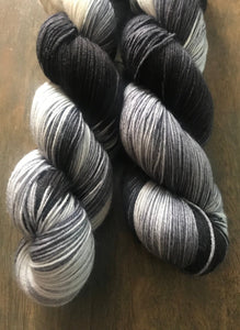 Apparition - Hand Dyed Superwash Merino Nomad Sock Fingering Yarn