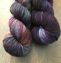 Load image into Gallery viewer, Dionysus-  Hand Dyed Nomad Superwash Merino and Nylon Sock Yarn