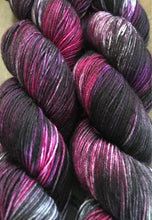 Load image into Gallery viewer, Fashionably Late- Hand Dyed Nomad Superwash Merino Sock  Fingering Yarn