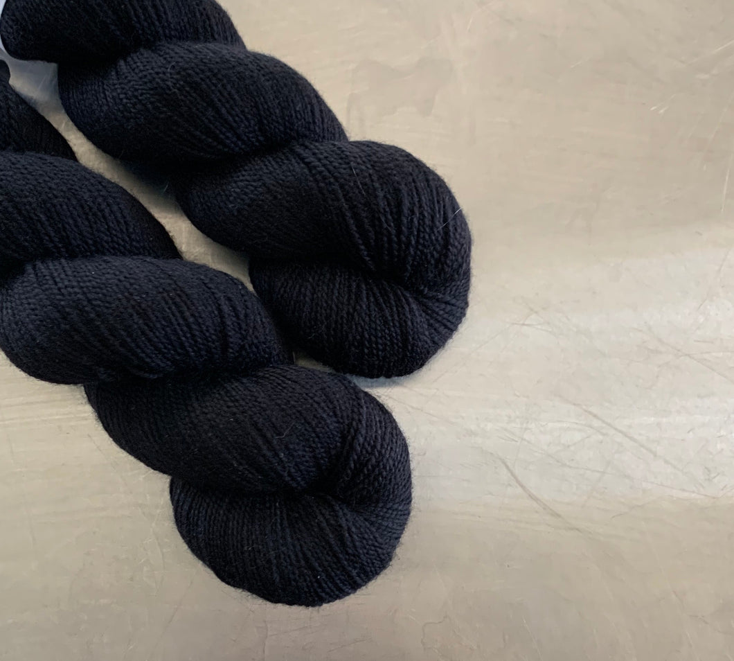 Basic Black- Serendipity Sock