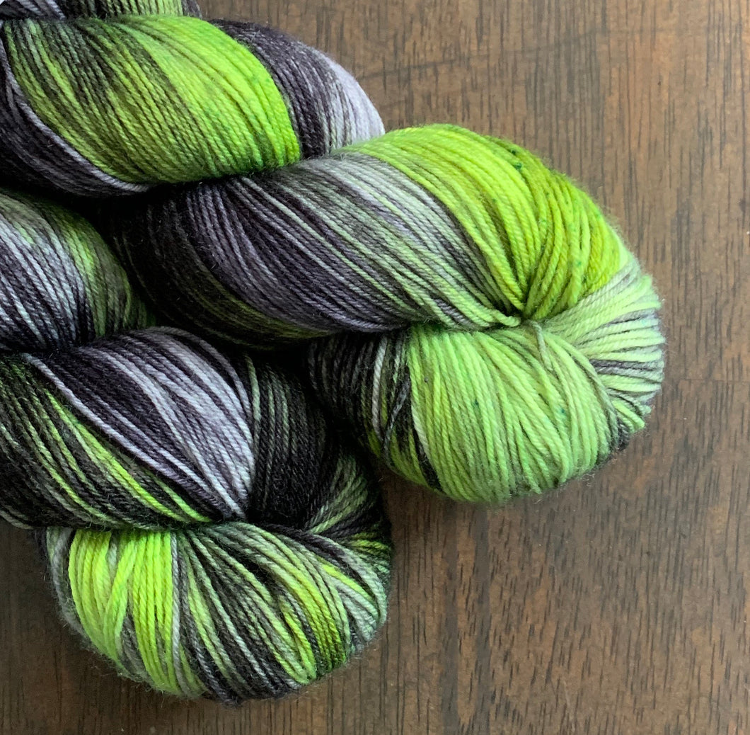Swamp Gas- Nomad Sock Yarn