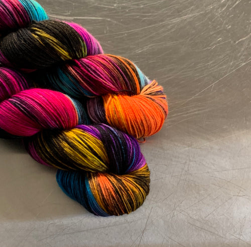 Rainbow In The Dark- Nomad Sock