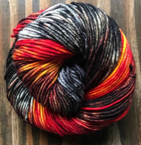 Eye of Sauron-  Merino Wool Essential Dk yarn