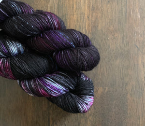 Fashionably Late- Hand Dyed Essential DK Superwash Merino Wool yarn
