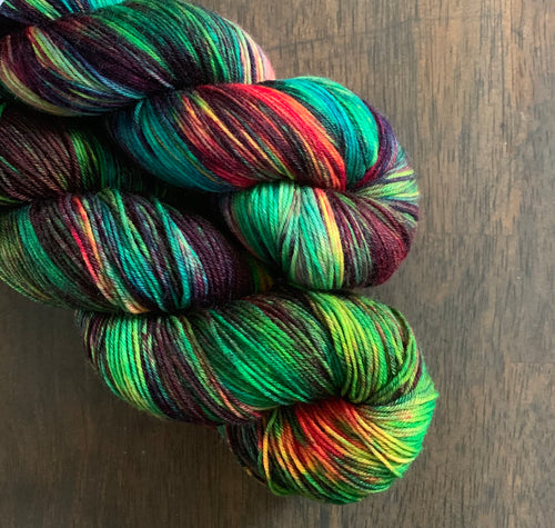 Toxic- Nomad Sock Yarn
