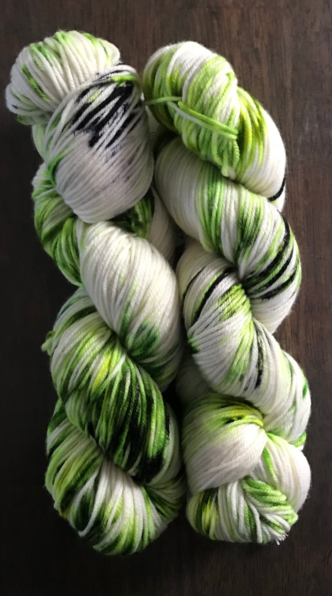 Green Hell- Merino Wool Essential Dk yarn