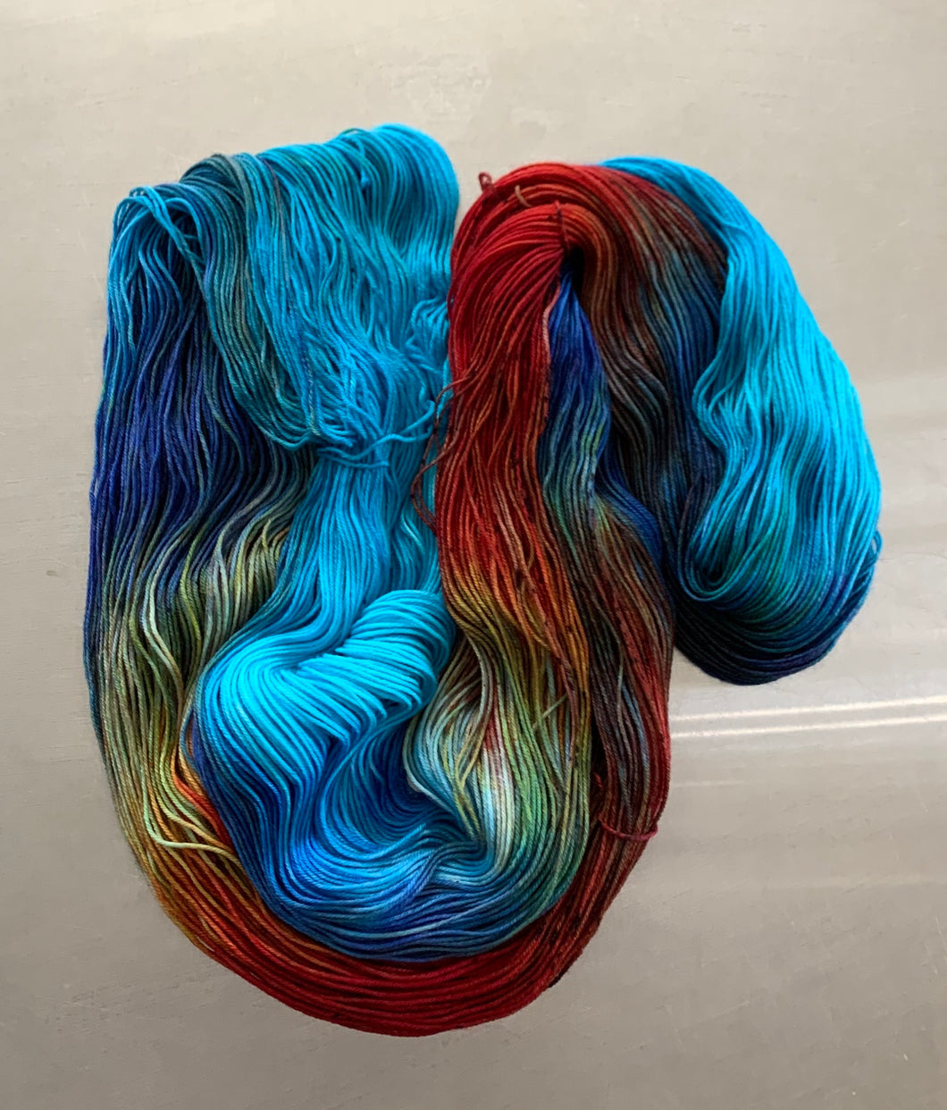 Fish Bowl- Nomad Sock Yarn