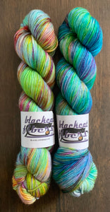 Unicorns VS. Narwhals- Essential DK Yarn