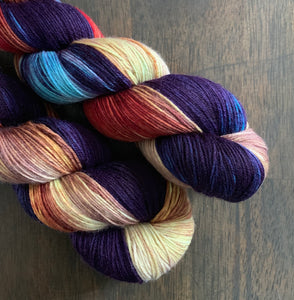 This Is Halloween- Nomad Sock Yarn