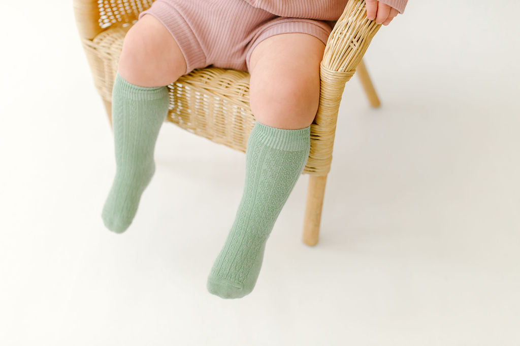 Cooper Cableknit Knee High