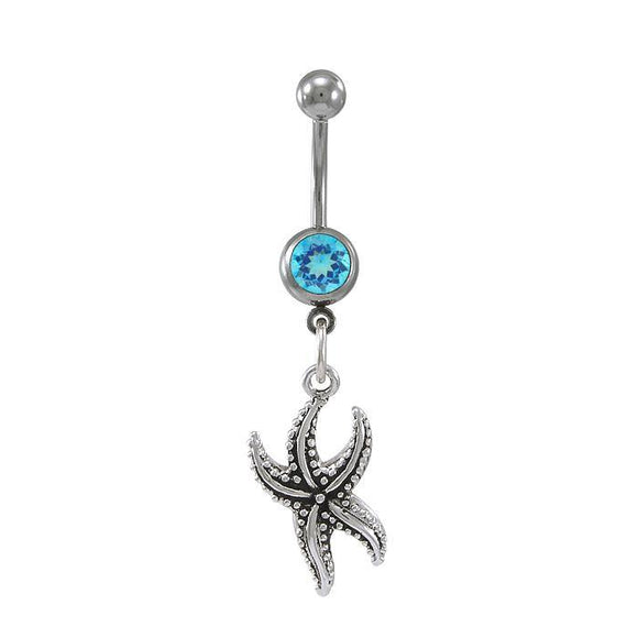 Starfish Sterling Silver Body Jewelry BJ015