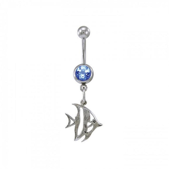 Anglefish Sterling Silver Body Jewelry BJ022