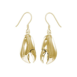 Lobster Claw Solid Gold Hook Earring GER1514