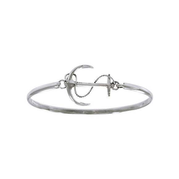Anchor Spring Lock Bracelet TBA166