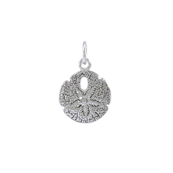 Sand Dollar Sterling Silver Charm TC216 - Charms
