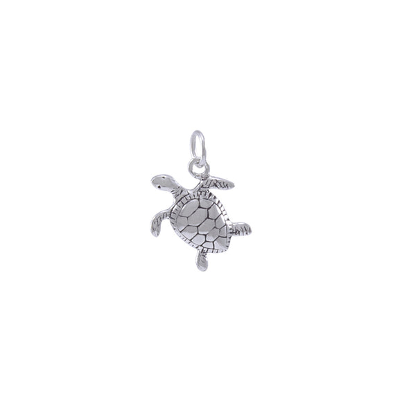 Turtle Sterling Silver Charm TC437