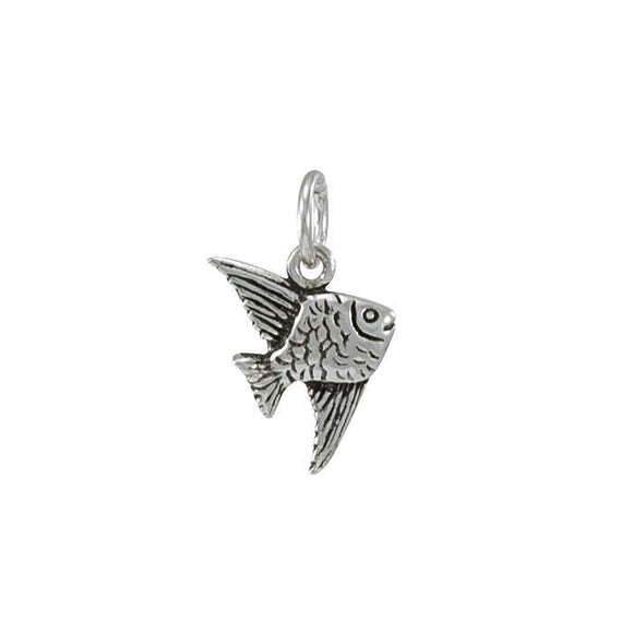 Angelfish Sterling Silver Charm TC495