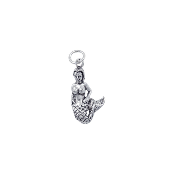 Mermaid Sterling Silver Charm TC609