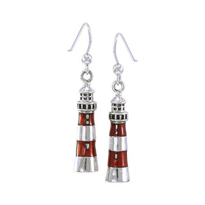 Adriatic Lighthouse Sterling Silver Hook Earring TE2830