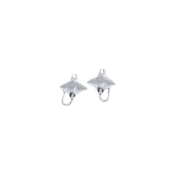 Manta Ray Sterling Silver Post Earring TE926