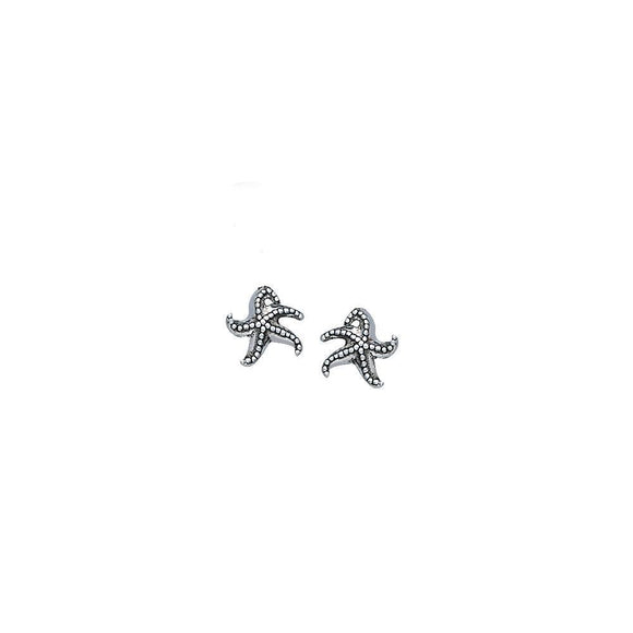 Starfish Sterling Silver Post Earrings TER1640