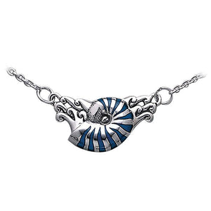 Nautilus Sterling Silver Necklace TN246