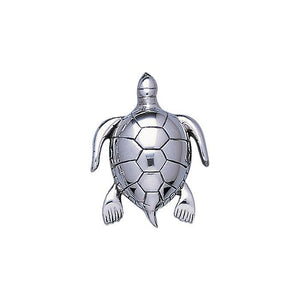 Turtle Sterling Silver Pendant TP1029