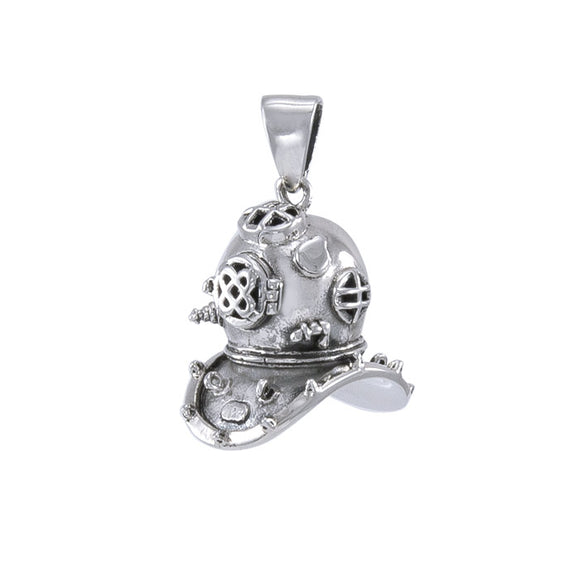 Historic Dive Helmet Pendant TP1564 - Pendants