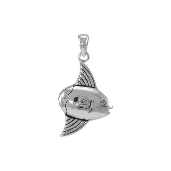Sunfish Sterling Silver Pendant TP2330